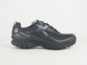 Mens Timberland All Mtn Gore-Tex 87185 Black Textile Lace Up Low Trainers