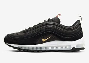 Nike Air Max 97 QS Black Size 10 US Mens Shoes Sneakers