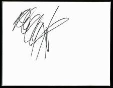 Adam Clayton U2 Bassist Authentic Signed 8x10 Canvas Bas #E44162