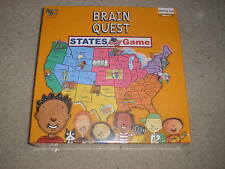 New Factory Sealed Brain Quest States Game Memory Game grades 3 - 6
