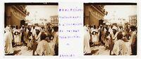 Procession Musulmano Algeri Algeria Foto n2 Placca Da Lente Stereo 14-4-1903