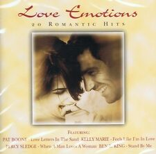 Love Emotions - 20 ROMANTIC HITS CD NUOVO Anita Ward Mamas & the Papas Kelly Marie