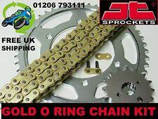 Nuevo servicio pesado o anillo dorado cadena Y PIÑÓN KIT HONDA VFR800 VFR 800 FI-1 01
