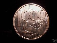 San Marino 1000 Lire 1991 AG  Libertas Perpetua