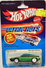 HOT WHEELS 1983 ULTRA HOTS WIND SPLITTER #9539 GREEN