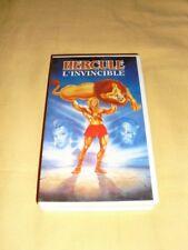 Hercule l'invincible VHS dessin animé