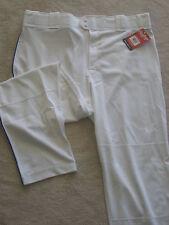 Rawlings Bp350Mrp Adult Open Bottom Baseball Pants- White/Royal size Axxl