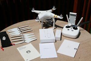 DJI Phantom 3 Quadcopter with 4K Camera and 3-Axis Gimbal - White/Gold