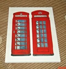 Telephone Box Canvas Picture