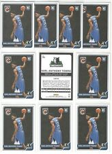 x10 Mint KARL ANTHONY TOWNS 2015-16 Panini #303 Rookie Card RC lot/set All-Star!