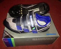 Scarpe bici corsa carbonio Shimano SH-R120-C carbon road bike shoes bicycles 38