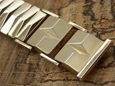 "Flex-Let Vintage 19mm or 3/4 inch straight bracelet watch band NOS 5 7/8"" long"