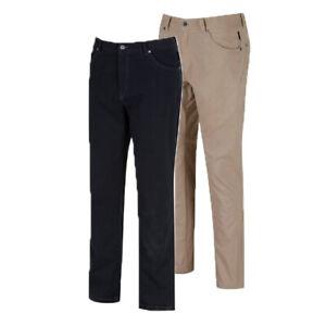 Men's Regatta landyn Cotton Casual Walking Golf Chino Jeans Trousers RRP £50