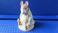 Beswick Beatrix potter Samuel whiskers BP2A gold oval stamp