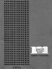 Marantz 2330 Receiver Owners Manual