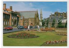 The Town Hall From The Flower Gardens, Troon: Ayrshire postcard (C31250)