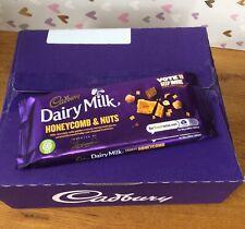Cadbury Dairy Milk Honeycomb & Hazelnuts Chocolate Bars 19X105g Past BB24/03/21