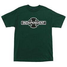 Independent Trucks Ogbc Logo Skateboard Shirt Forest Green Xxl