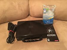 Sony PSP 2001 Piano Black Handheld System Bundle