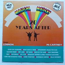 "MAXI 12"" MAGICAL MEDLEY 20 years after LENNON MCCARTNEY BEATLES 560136"