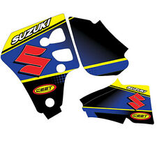 Suzuki RM80 96-01 Contra Blue Decal Kit ZDS106