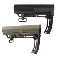 Tan/Black Mission Minimalist Hunting Adjustable Stock Tactical Rife Mil-Spec