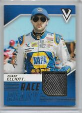 2018 VICTORY LAND RACE USED MATERIAL CHASE ELLIOTT NASCAR RACING NICE CARD