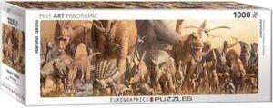 EG60104650 - Eurographics Puzzle 1000 Pc - Dinosaurs by Haruo Takino