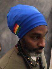 Royal blue Rasta Turban Rasta tam Turban Locsoc man turban blue Rasta hat