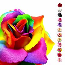 "TID (2-12pcs) Giant Silk Rose Heads 3.75"" - Fabric - Wedding Artificial Flower"