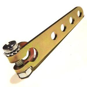 "Rod Arm Linkage Weber DCOE Carburetor Throttle Lever crossbar shaft 8mm 5/16"""