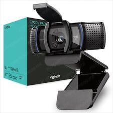 Logitech WEBCAM C920s Pro HD 1080p Privacy Shutter Video Chat Conference Camera