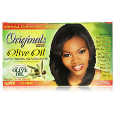 Africa's Best Originals Olive Oil Conditioning Relaxer System No-Lye Super
