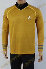 Star Trek Into Darkness Starfleet Captain Kirk Spock Costume Suit Shirt Uniform