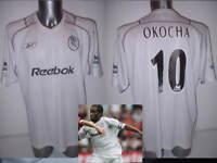 Bolton Wanderers Okocha Adult XL 03 Shirt Jersey Football Soccer Reebok Nigeria