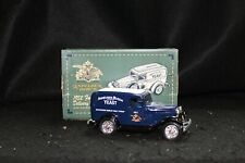 Ertl Die-Cast Metal Budweiser Bank-1932 Ford Panel Delivery Truck-8th in Series
