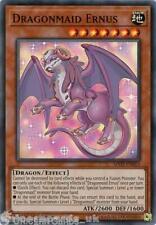 MYFI-EN015 Dragonmaid Ernus Super Rare 1st Edition Mint YuGiOh Card