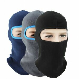 Unisex Winter Warm Hat Men Lady Fleece Ski Face Mask Hood Neck Cover Balaclava