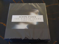 CD Box Set: John Foxx : The Virgin Years 1980 -1985 : 5 CDs Sealed