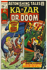Astonishing Tales #4 G/Vg, Barry Smith, Wally Wood, Marvel Comics 1971