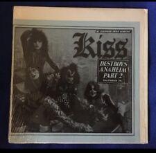 KISS Destroys Anaheim Part 2 Lp 33 Rare Bootleg Vinily