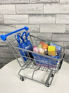 My Life As Doll Size Walmart Shopping Cart Toy Play Set With Shopping Basket