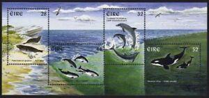 Ireland 1052a sheet,MNH.Michel Bl.22. Marine Mammals,1997.Dolphins,whales.