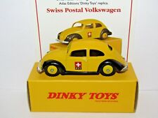 ATLAS DINKY SWISS POSTAL VOLKSWAGEN 262 UK ISSUE WITH CERTIFICATE