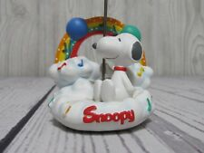 """PEANUTS United Feature Syndicate SNOOPY Card Holder Birthday Music Notes 4.5"""""""