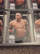 George St Pierre 2015 Topps UFC # 86 GSP