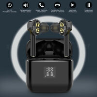 Wireless Bluetooth TWS Earphone Earbuds Sports Headsets In-Ear Stereo Headphones