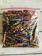 2.5 Lbs Lot Crayola Crayons Whole & Broken Melting Arts Crafts Used