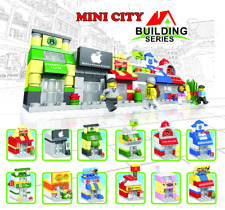 12 Lot City Toy Building Bricks Modular Buildings Stores  USA SHIPPING hot deal!