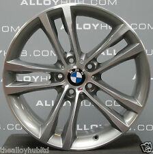 "Genuine BMW serie 3 GT 19"" pollici F34 598M SPORT GRIGIO FERRO ANTERIORE LEGA RUOTA X1"
